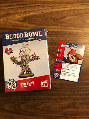 Blood Bowl Treeman Sealed With Akhorne The Squirrel Card From White Dwarf New • 21£