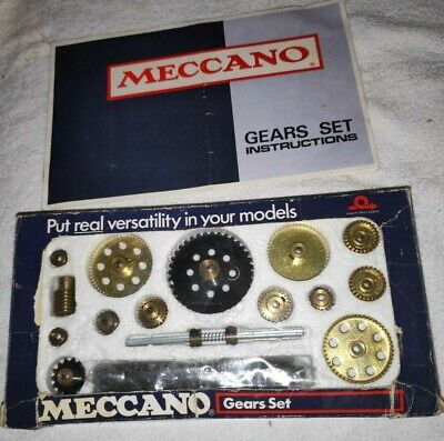 Nice Meccano Gears Set, Complete With Instructions. • 66£