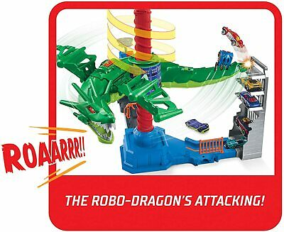Hot Wheels Air Attack Dragon Playset • 28.50£