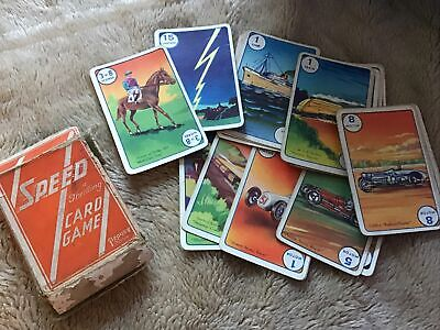 VINTAGE. PEPYS SPEED. A THRILLING CARD GAME.1940's Edition.  • 4.99£