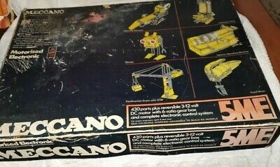 Meccano Rare Set 5ME, Very Nice Condition, Checked And Complete • 61£