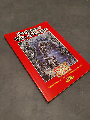 Warhammer City Of Chaos, Fantasy Roleplaying Sourcebook PLAYER HANDOUTS MISSING • 10£