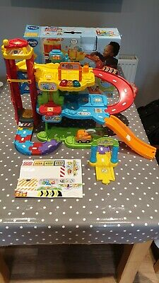 Vtech Toot Toot Drivers Garage Set Boxed • 17.50£