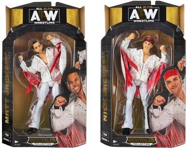 AEW All Elite Wrestling Unrivaled Collection Young Bucks Set Of 2 - Brand NEW • 39.99£