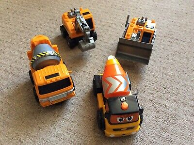 Boys Toy Diggers Cement Mixers Bundle • 4£