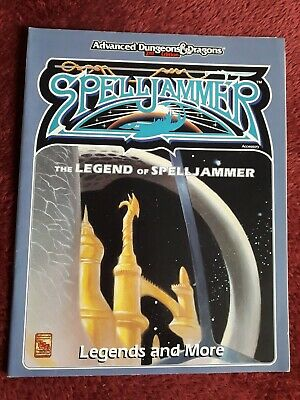 Spelljammer 1991 Book - Legends And More - Advanced Dungeons & Dragons 2nd Ed • 19.99£