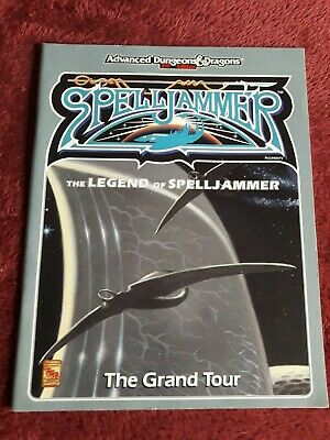 Spelljammer 1991 Book - The Grand Tour - Advanced Dungeons & Dragons 2nd Ed Ad&d • 19.99£