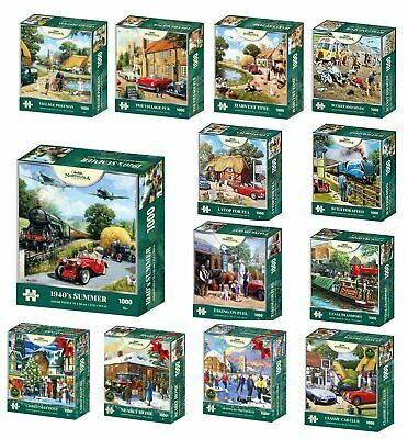 Kevin Walsh Nostalgia Collection 1000 Piece Jigsaw Puzzles • 14.95£