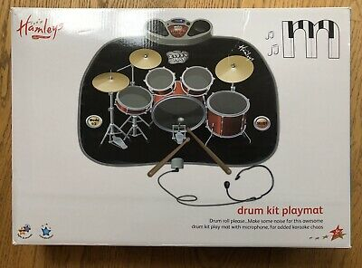 Hamleys Drum Kit Playmat Complete With Box • 0.99£
