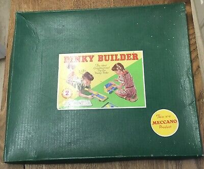 Meccano Dinky Builder Outfit 2. Near Mint Condition With Instructions. • 40£