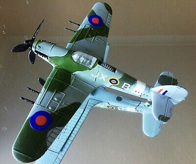 Dinky Toys Hawker Hurricane 11C Original With Gun Ratchet And Markings • 45£