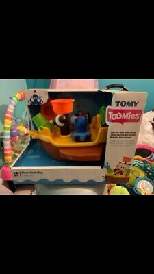 Tomy Toomies Pirate Ship Bath Toy New In Box • 15£