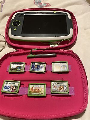 LeapFrog LeapPad Platinum Tablet, Case, Charger And 6 Games (Frozen, Toy Story) • 30£