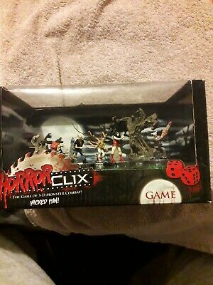 Horror Clix Game Of 3 D Monster Combat Unopened • 6£