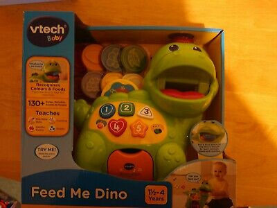 Vtech Baby 157703 Feed Me Dino Toy - Green • 10£