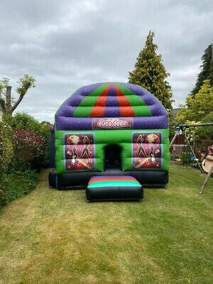 Disco Dome Inflatable Bouncy Castle 12x17ft - With All Accessories • 799£