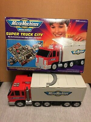 Micro Machines - Super Truck City - 1998 - In Original Box • 75£