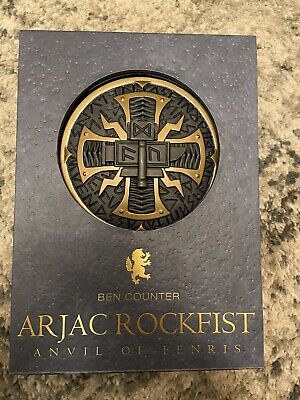 Arjac Rockfist Delux Only 500 Black Library UK BUYER ONLY!! • 200£