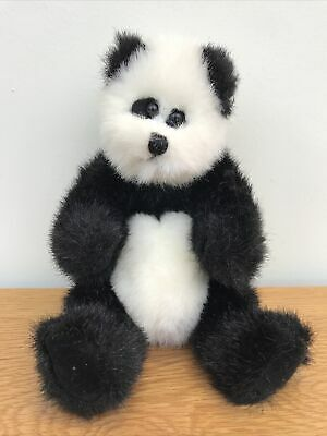 Ty The Attic Collection Bears- Checkers The Panda • 6£