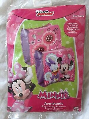 Minnie Mouse Arm Bands Swim Aid 3-6 Years • 2.99£