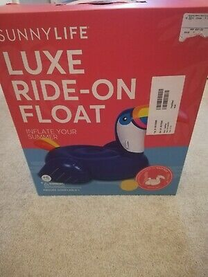Sunnylife Luxe Ride-on Float Toucan • 32£