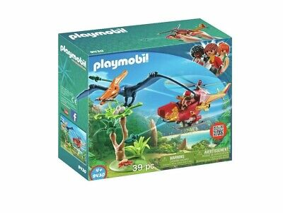 Playmobil 9430 Dinos Adventure Copter With Pterodactyl Brand New Free Postage • 18.99£
