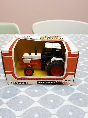 Ertl David Brown 1690 Tractor Boxed Rare 1/32 Scale Like Britains Farm Toys • 20£
