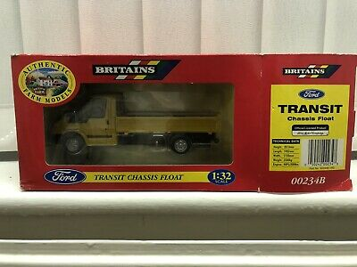 Scarce 1999 Britains 1/32 Ford Transit Chassis Float Pick-Up No00234B Mint Boxed • 25£