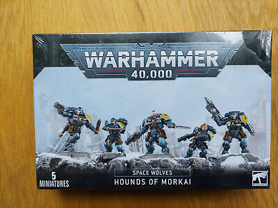 Warhammer Space Wolves - Hounds Of Morkai - New In Box - Sealed. • 20£
