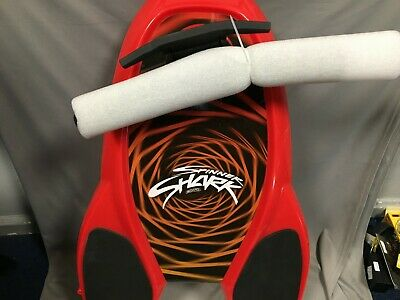 Spinner Shark 360 Degree Knee Board Red Kick Push Go Spin 77280/LH • 69.99£