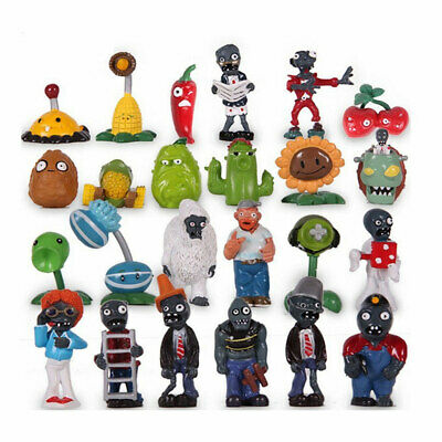 24 X Plants Vs Zombies Toys Series Games Different Roles Of Figure Toy PVC Doll • 18.99£