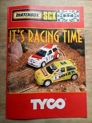 Matchbox SCX Tyco Catalogue Brochure 1996 • 2.50£