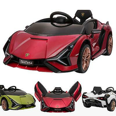 Kids 12V Licensed Lamborghini Sian Performante Electric Battery Ride On Car • 239£