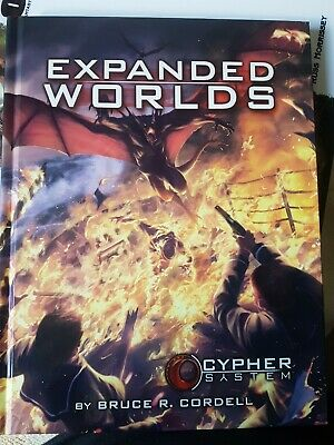 Expanded Worlds - Cypher System Monte Cook Rpg Roleplaying New Sealed Roleplay • 7.50£