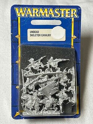 GW: Warmaster: 10mm: Undead: Skeleton Cavalry: Metal: Boxed • 20£
