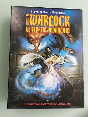 Warlock Of Firetop Mountain By Games Workshop, Immaculate Condition • 41£