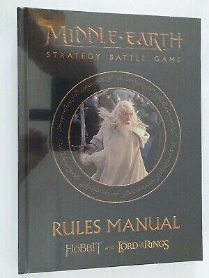 Lord Of The Rings Middle-Earth Strategy Battle Game Rules Manual  • 17.99£