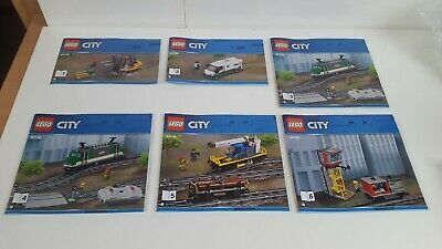 Lego  !! Instructions Only !! For City 60198 Cargo Train • 6.99£