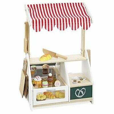 Wooden Toy Shop / Play Shop Little Baker With Accessory Set 4752 • 74.64£