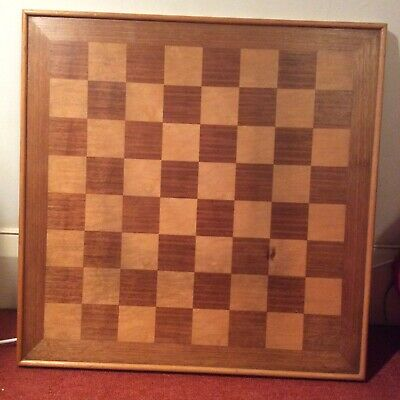 Antique Tournament Sized Chess Board (Collect From NW6) • 80£