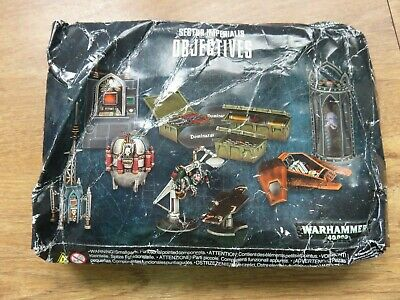 WARHAMMER 40.000 40K SECTOR IMPERIALIS OBJECTIVES Imperial Terrain Scenery NEW • 20£