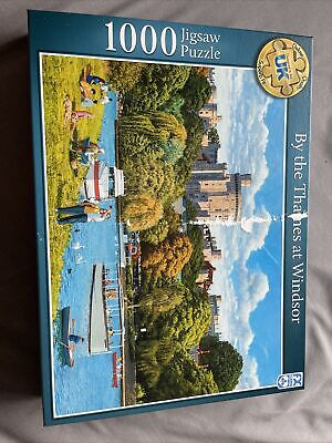 By The Thames At Windsor 1000 Piece Jigsaw Puzzle • 5£