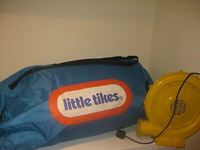 Little Tikes Jumping Castle With Blower (inflator) • 50£