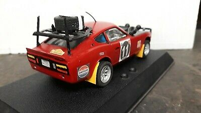 Scalextric Classic East African Rally DATSUN 260Z Safari Detailed Model • 40£