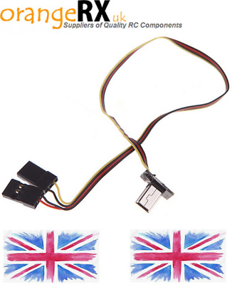 GOPRO GO PRO Hero 3 Hero 4 SUPER SLIM FPV VIDEO OUT LEAD + POWER CABLE RC Lead • 5.99£