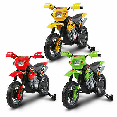 Kids Electric Motorbike Children 6V Battery Power Scooter Ride On Motorcycle • 62.99£