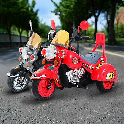 Electric Kids Motorbike Ride On Retro Toy Car Battery Operated Children W/ Sound • 57.99£