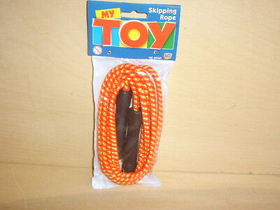 Children's Skipping Rope. 7 Foot Long. My Toy Brand. New, Guaranteed Delivery. • 1.50£