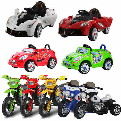 Electric Ride On Car Motorbike Tricycle Kids Ride On Car Children Walker Battery • 64.99£