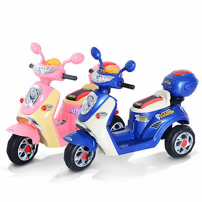 Electric Ride On Toy Car Kids Motorbike Children Motorcycle Tricycle Safe 6V • 82.99£